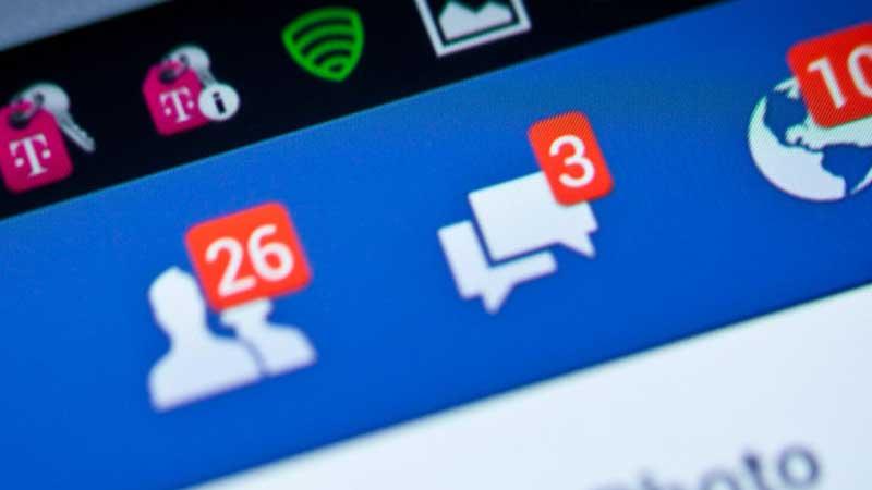 Como reduzir notificações no Facebook