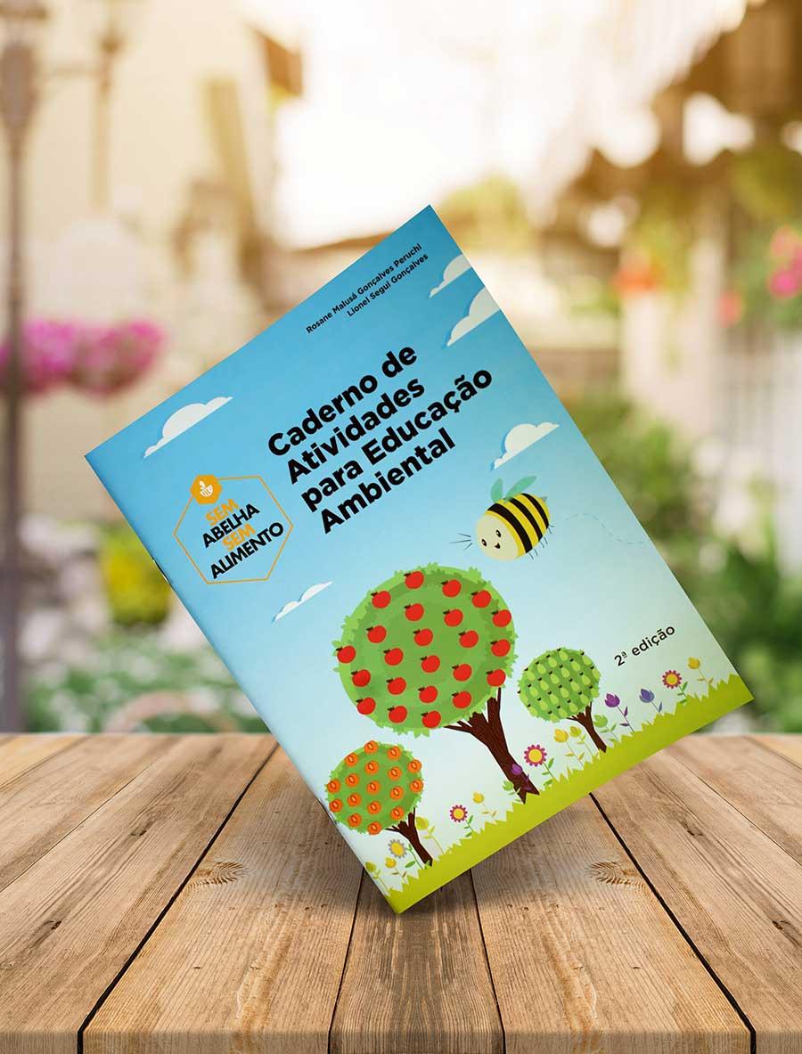 Organização de defesa das abelhas lança caderno de atividades para crianças