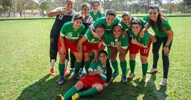 Meninas de Cravinhos ficam com a medalha de bronze na Copa Recra