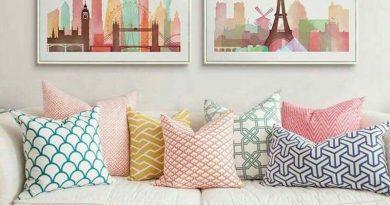 Almofadas, dica fácil para uma decoração alegre e divertida