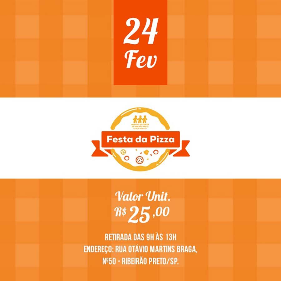 Hospital de Câncer de Ribeirão Preto realiza Festa da Pizza