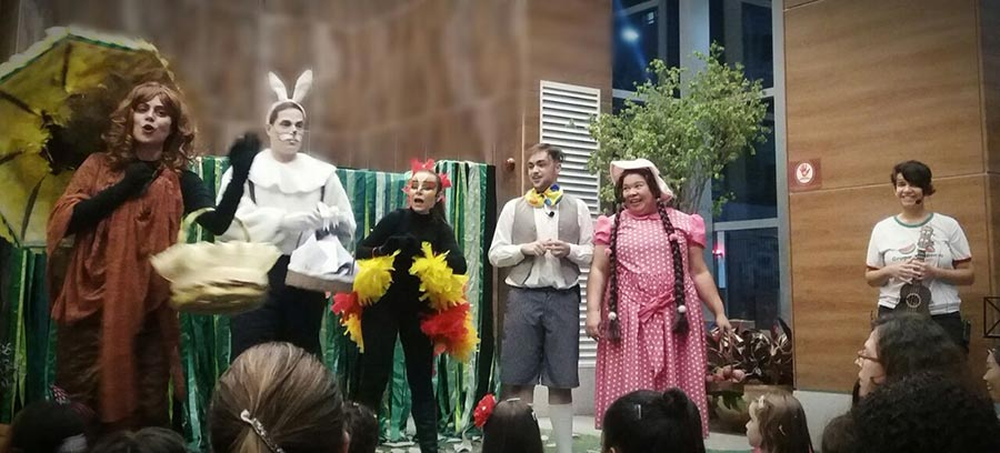 Teatro infantil no Shopping Santa Úrsula explora o universo lúdico
