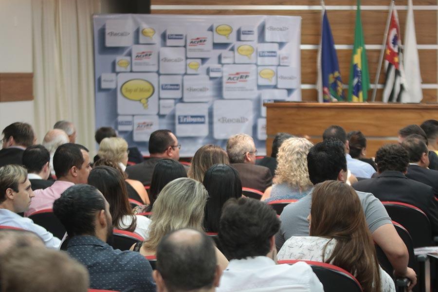 Associados da ACIRP foram homenageados no Top of Mind Ribeirão Preto
