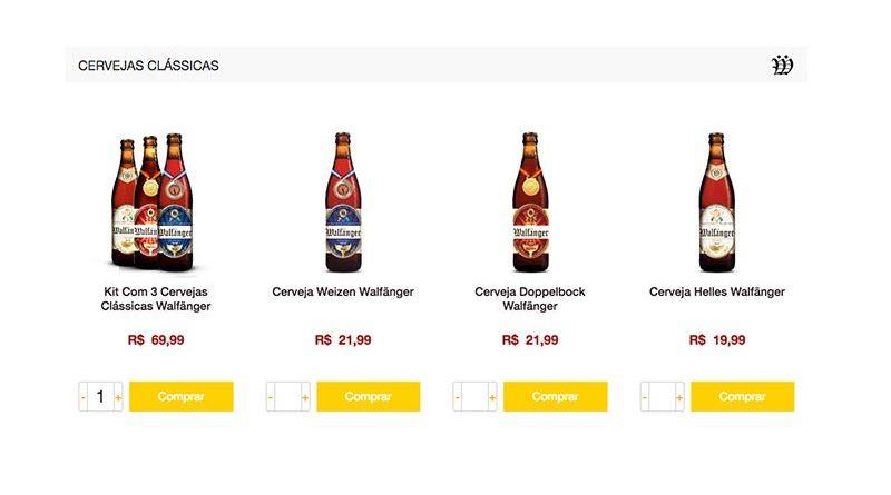 Cervejaria Walfänger lança e-commerce