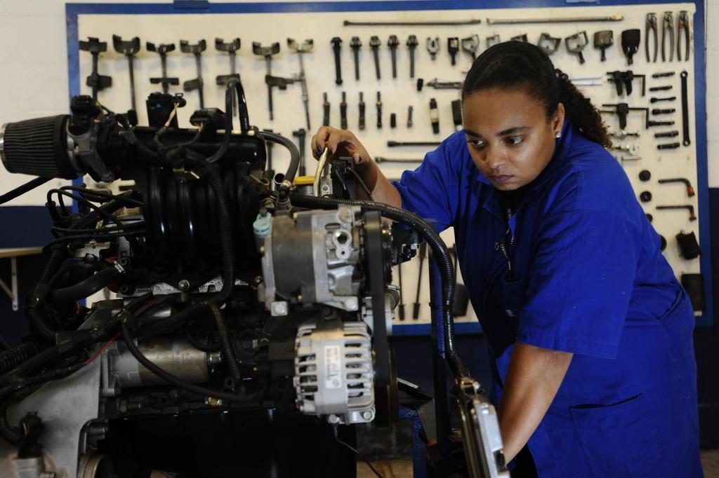 mulher mecanica